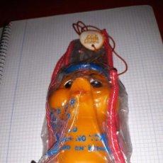 Figuras de Goma y PVC: MUÑECO PETETE GOMA CON PITO AÑOS 70 NUEVO REFERENCIA 407 BABY TOY. Lote 57494632