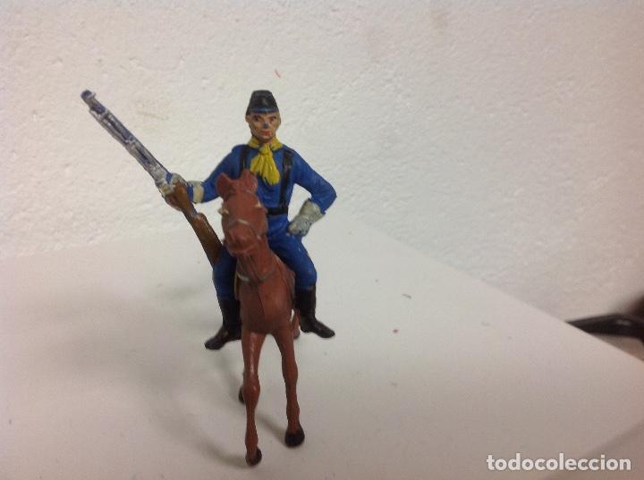 Figuras de Goma y PVC: FIGURA YANKEE COMANSI - yanqui primera epoca comansi - Foto 2 - 109413339