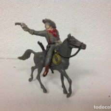 Figuras de Goma y PVC: FIGURA CONFEDERADO PECH HERMANOS - CABALLO COMANSI YANKEE CONFEDERADO HERMANO PECH . Lote 109414491