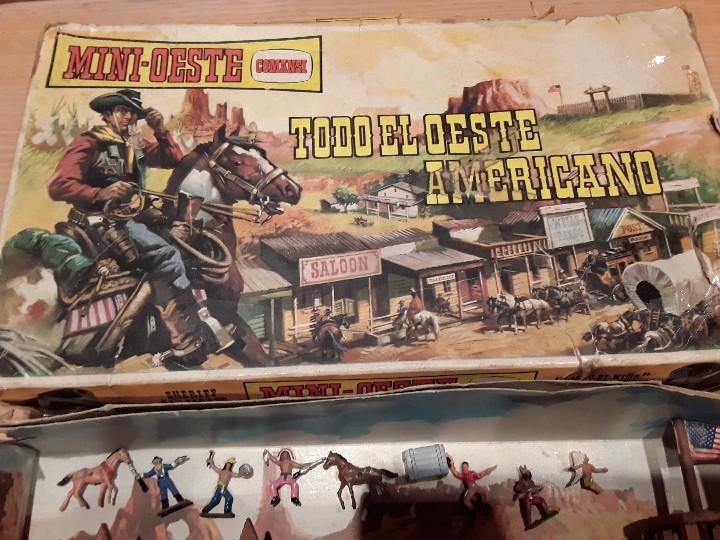 Figuras de Goma y PVC: Comansi mini oeste americano , todo el oeste americano. - Foto 2 - 109425391