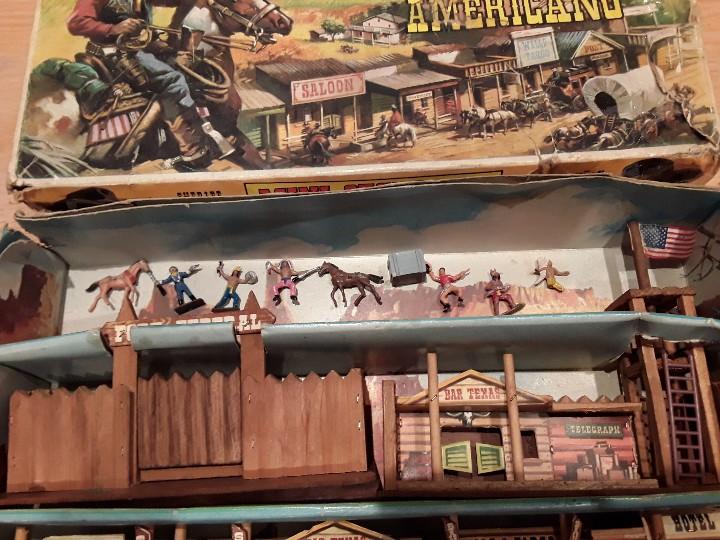 Figuras de Goma y PVC: Comansi mini oeste americano , todo el oeste americano. - Foto 3 - 109425391
