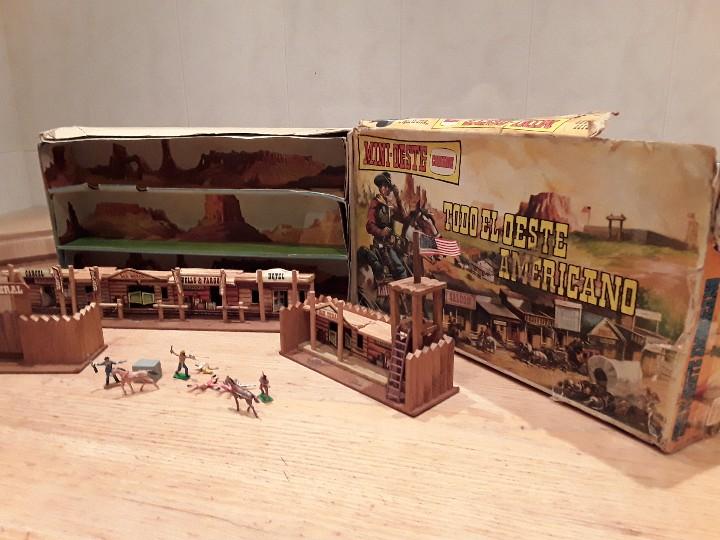 Figuras de Goma y PVC: Comansi mini oeste americano , todo el oeste americano. - Foto 5 - 109425391