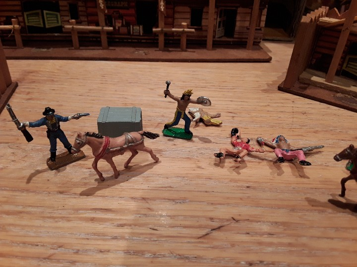 Figuras de Goma y PVC: Comansi mini oeste americano , todo el oeste americano. - Foto 6 - 109425391