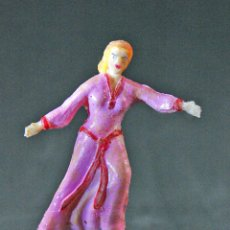 Figuras de Goma y PVC: FIGURA DE CHICA DEL CAPITAN TRUENO. Lote 109450059