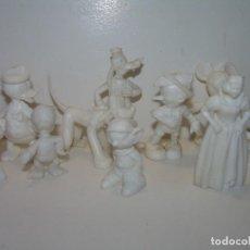 Figuras de Goma y PVC: FIGURAS DE PLASTICO....WALD DISNEY....10 EN TOTAL.. Lote 109469143