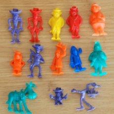 Figuras de Goma y PVC: LOTE 13 FIGURAS DUNKIN LUCKY LUKE . Lote 109498875