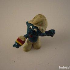 Figuras de Goma y PVC: PITUFOS SCHLEICH FIGURA PVC 2. Lote 109539395