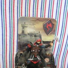 Figuras de Goma y PVC: CABALLERO DE LA ORDEN DEL DRAGON SHABAROK CON ARMAS DE SCHLEICH. Lote 194501313