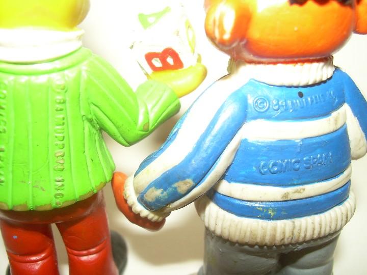 Figuras de Goma y PVC: ANTIGUAS FIGURAS....EPI Y BLAS. - Foto 3 - 109872671