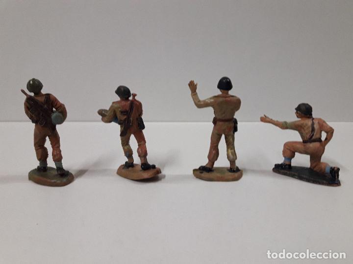Figuras de Goma y PVC: POSICION NORTEAMERICANA DE ARTILLERIA . REALIZADA POR PECH . AÑOS 60 - Foto 4 - 109896951
