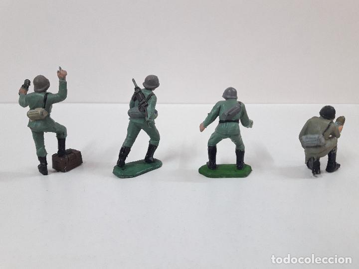 Figuras de Goma y PVC: POSICION ALEMANA DE ARTILLERIA . REALIZADA POR PECH . AÑOS 60 - Foto 4 - 110018539