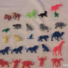 Figuras de Goma y PVC: LOTE 28 FIGURAS ANIMALES DUNKIN. Lote 110094955