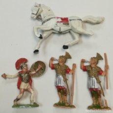 Figuras de Goma y PVC: CUATRO FIGURAS REAMSA ROMANOS. Lote 110157075