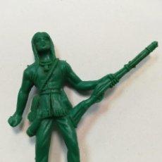 Figuras de Goma y PVC: FIGURA COMANSI INDIO TRAMPERO MINGO SERIE CABAÑA DANIEL BOONE. Lote 110157283