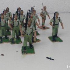 Figuras de Goma y PVC: ANTIGUAS FIGURITAS DESFILE REAMSA LEGION. Lote 110173655