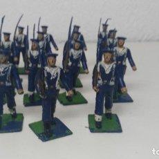Figuras de Goma y PVC: ANTIGUAS FIGURITAS DESFILE REAMSA MARINA. Lote 110173743