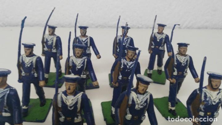 Figuras de Goma y PVC: ANTIGUAS FIGURITAS DESFILE REAMSA MARINA - Foto 2 - 110173743