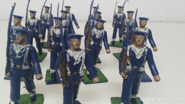 Figuras de Goma y PVC: ANTIGUAS FIGURITAS DESFILE REAMSA MARINA - Foto 3 - 110173743
