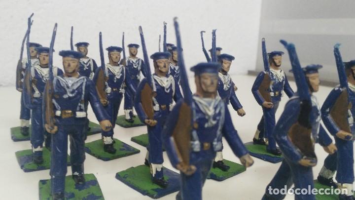 Figuras de Goma y PVC: ANTIGUAS FIGURITAS DESFILE REAMSA MARINA - Foto 4 - 110173743
