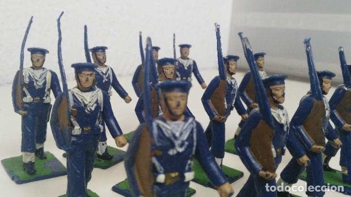 Figuras de Goma y PVC: ANTIGUAS FIGURITAS DESFILE REAMSA MARINA - Foto 5 - 110173743