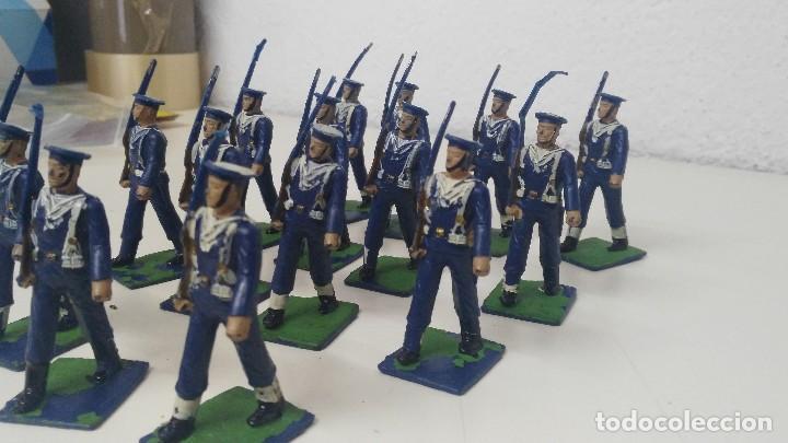Figuras de Goma y PVC: ANTIGUAS FIGURITAS DESFILE REAMSA MARINA - Foto 6 - 110173743