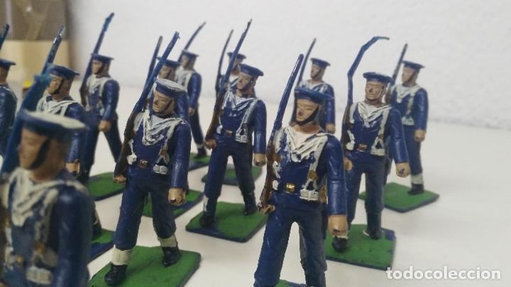 Figuras de Goma y PVC: ANTIGUAS FIGURITAS DESFILE REAMSA MARINA - Foto 7 - 110173743