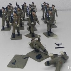 Figuras de Goma y PVC: ANTIGUAS FIGURITAS DESFILE REAMSA PARACAIDISTAS. Lote 110174035