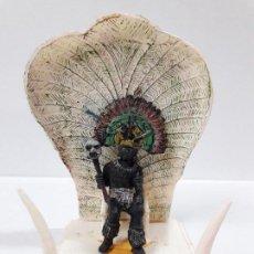 Figuras de Goma y PVC: REY - JEFE NEGRO KAKAUANA . REALIZADO POR PECH . SERIE SAFARI . AÑOS 50 EN GOMA . TRONO NO INCLUIDO. Lote 110182875