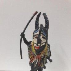 Figuras de Goma y PVC: GUERRERO - BRUJO AFRICANO KAKUANA . REALIZADO POR PECH . AÑOS 50 EN GOMA. Lote 110183803