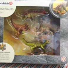 Figure di Gomma e PVC: MINI DINOS CON PUZZLE DE PANTANO DE SCHLEICH. Lote 293538313