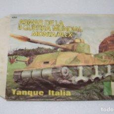 Figuras de Goma y PVC - MONTAPLEX SOBRE VACÍO TANQUE ITALIA Nº 464 - AÑOS 70 - 110325167