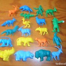 Figuras de Goma y PVC: LOTE FIGURAS DUNKIN- INSPECTOR GADGET, RUSO, ANIMALES.... Lote 110341675