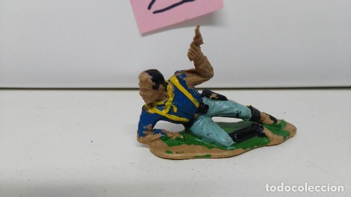 Figuras de Goma y PVC: ANTIGUA FIGURA DE REAMSA SEPTIMO DE CABALLERIA - Foto 2 - 110368459