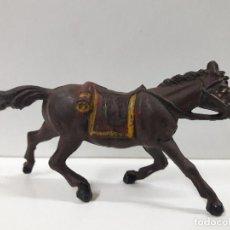 Figuras de Goma y PVC: CABALLO PARA VAQUERO - COWBOY . REALIZADO POR PECH . AÑOS 50 EN GOMA. Lote 110476995