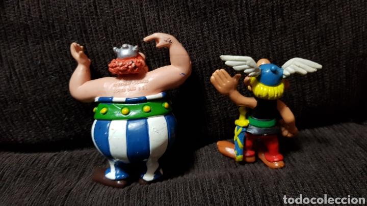 Figuras de Goma y PVC: Figuras PVC Astérix y Obélix de cómic Spain en excelente estado - Foto 4 - 110561471