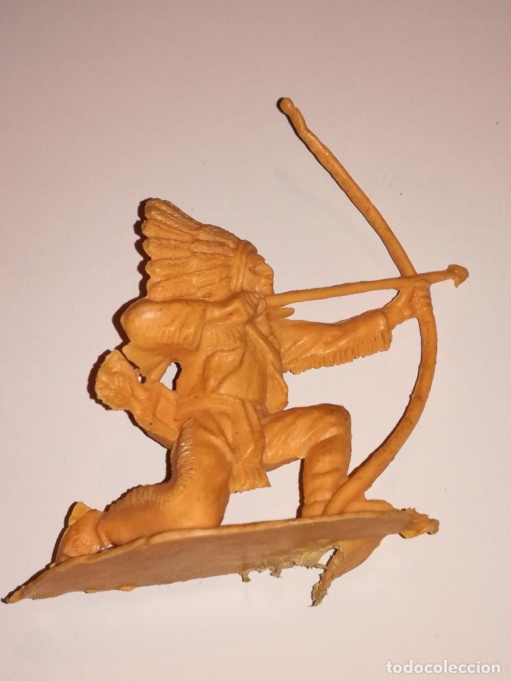 Figuras de Goma y PVC: FIGURAS COMANSI MONOCROMAS PRIMERA ÉPOCA VAQUEROS COWBOYS INDIOS - Foto 9 - 110596627