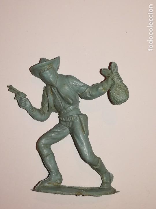 Figuras de Goma y PVC: FIGURAS COMANSI MONOCROMAS PRIMERA ÉPOCA VAQUEROS COWBOYS INDIOS - Foto 12 - 110596627