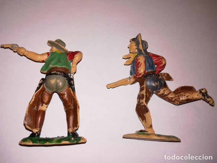 Figuras de Goma y PVC: FIGURAS DE PLÁSTICO REAMSA INDIOS COWBOYS - Foto 5 - 110628783