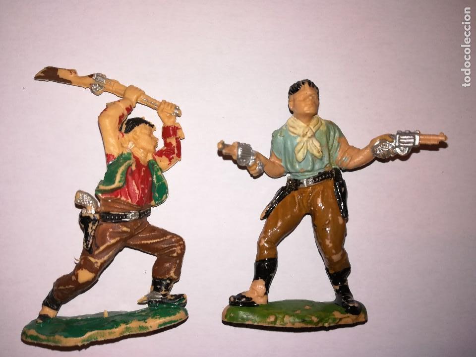 Figuras de Goma y PVC: FIGURAS DE PLÁSTICO REAMSA INDIOS COWBOYS - Foto 6 - 110628783
