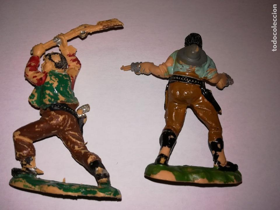 Figuras de Goma y PVC: FIGURAS DE PLÁSTICO REAMSA INDIOS COWBOYS - Foto 7 - 110628783