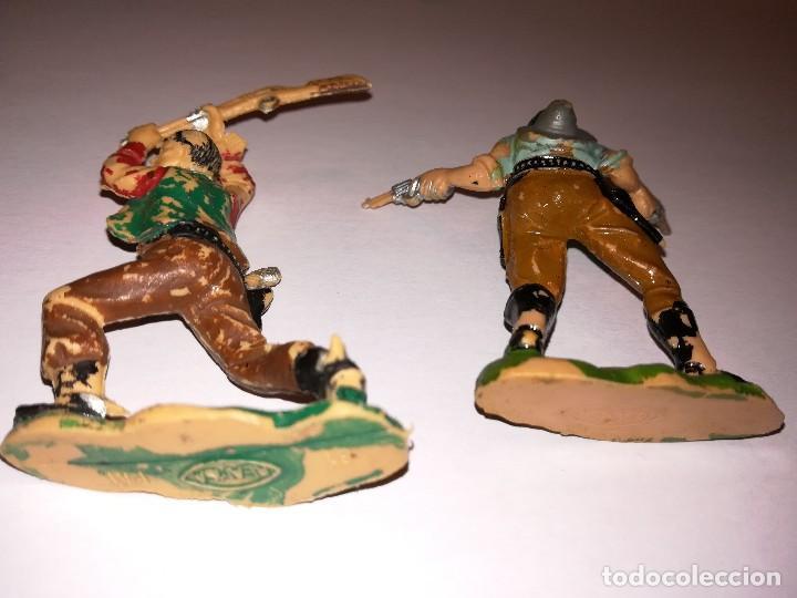 Figuras de Goma y PVC: FIGURAS DE PLÁSTICO REAMSA INDIOS COWBOYS - Foto 8 - 110628783