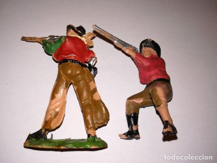 Figuras de Goma y PVC: FIGURAS DE PLÁSTICO REAMSA INDIOS COWBOYS - Foto 9 - 110628783