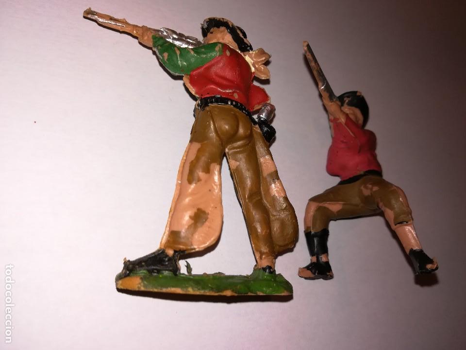 Figuras de Goma y PVC: FIGURAS DE PLÁSTICO REAMSA INDIOS COWBOYS - Foto 10 - 110628783