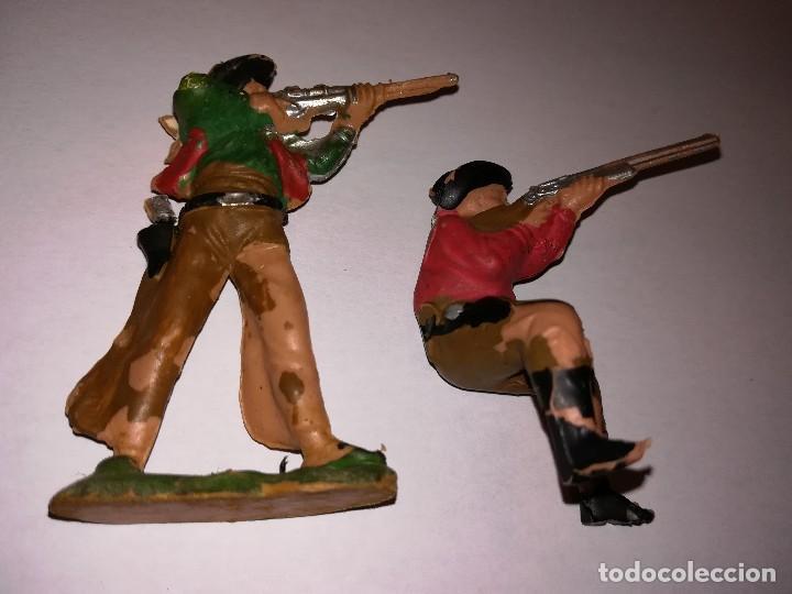 Figuras de Goma y PVC: FIGURAS DE PLÁSTICO REAMSA INDIOS COWBOYS - Foto 11 - 110628783