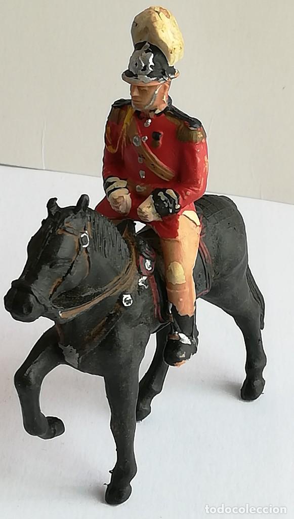 FIGURA Y CABALLO PLÁSTICO REAMSA SERIE GUARDIA MUNICIPAL GALA A CABALLO (Juguetes - Figuras de Goma y Pvc - Reamsa y Gomarsa)