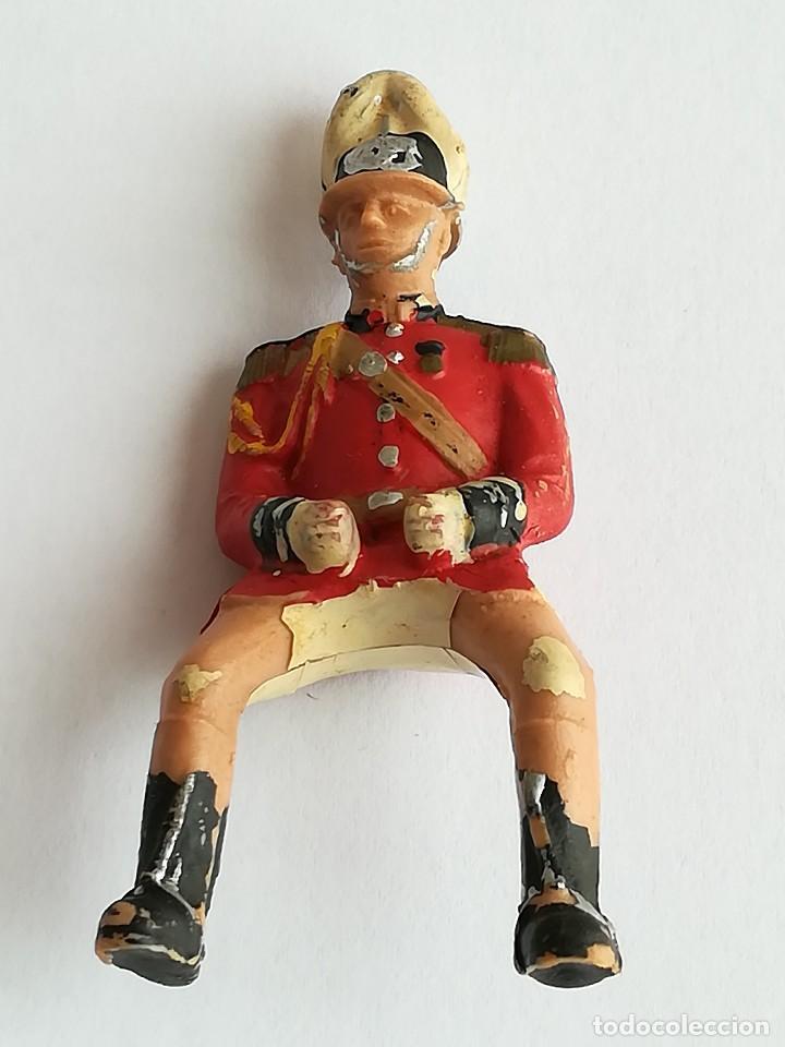 Figuras de Goma y PVC: FIGURA Y CABALLO PLÁSTICO REAMSA SERIE GUARDIA MUNICIPAL GALA A CABALLO - Foto 2 - 110632635