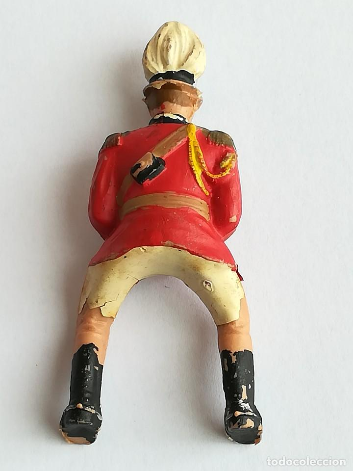 Figuras de Goma y PVC: FIGURA Y CABALLO PLÁSTICO REAMSA SERIE GUARDIA MUNICIPAL GALA A CABALLO - Foto 4 - 110632635