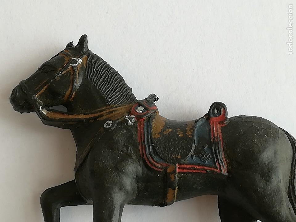 Figuras de Goma y PVC: FIGURA Y CABALLO PLÁSTICO REAMSA SERIE GUARDIA MUNICIPAL GALA A CABALLO - Foto 6 - 110632635