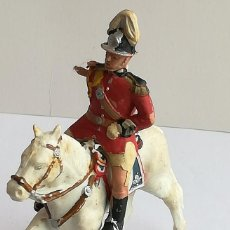 Figurines en Caoutchouc et PVC: FIGURA Y CABALLO PLÁSTICO REAMSA SERIE GUARDIA MUNICIPAL GALA A CABALLO. Lote 110632815