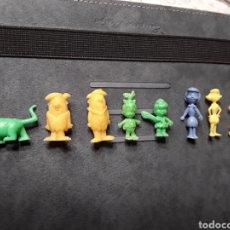 Figuras de Goma y PVC: FIGURAS DUNKIN LOS PICAPIEDRAS LOTE DE 8. Lote 101576186
